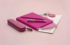 Guilloche Electric Pink